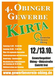 Plakat Gewerbekirta 2013