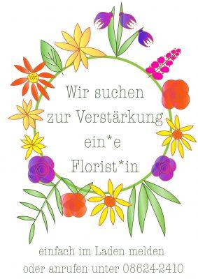 stellenanzeige florist